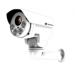 поворотная ip-видеокамера с оптическим зумом ip-p082.1(10x) Optimus ips003055