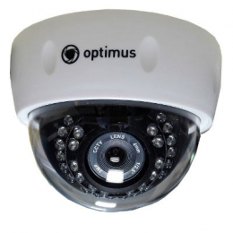 купольная камера optimus  ip-e021.3(3.6)p Optimus ips003035