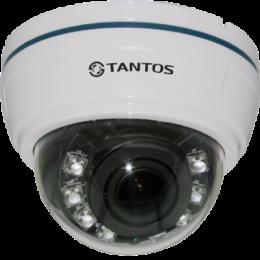 купольная ahd видеокамера tantos tsc-di720pahdv (2.8-12) Tantos ips002934