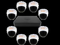 комплект ahd видеонаблюдения помещение 4 VeSta ips001203