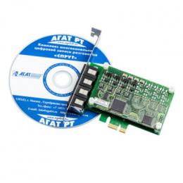 спрут-7/а-6 запись аудиоинформации от 6 аналоговых каналов АГАТ Российские технологии ips003303