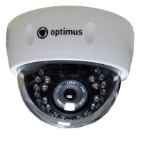 Купольная камера Optimus IP-E022.1(3.6)AP_V2035