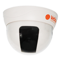 Купольная IP видеокамера Vesta VC-3201 М004, f=3.6, Белый