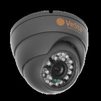 Антивандальная AHD видеокамера Vesta VC-2420 М106, f=3.6, Титан, IR
