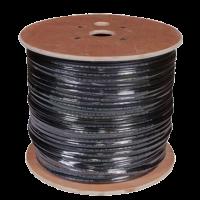 КВК-П  2х0.75мм (12V) внешний Plexus 100 м/4  черный