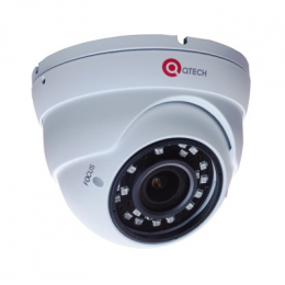 Видеокамера IP купольная антивандальная QTECH  QVC-IPC-202V (2.8-12)