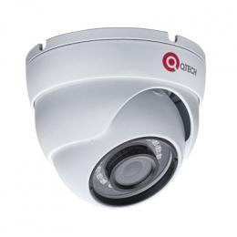 Видеокамера IP купольная QTECH  QVC-IPC-202V-DC (2.8)