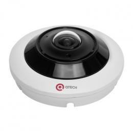 Видеокамера IP купольная fisheye QTECH  QVC-IPC-503AS (1.1)
