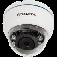 Купольная AHD видеокамера Tantos TSc-Di720pAHDf (2.8)