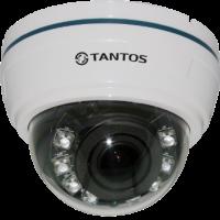 Купольная AHD видеокамера Tantos TSc-Di1080pAHDv (2.8-12)