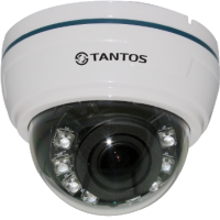Купольная AHD видеокамера Tantos TSc-Di720pAHDv (2.8-12)