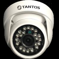 Купольная AHD видеокамера Tantos TSc-EBecof2 (3.6)