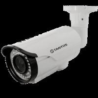 Уличная цилиндрическая AHD видеокамера Tantos TSc-PL1080pAHDv (2.8-12)