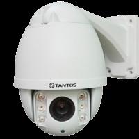Уличная поворотная AHD видеокамера Tantos TSc-SDW1080pZ10IR