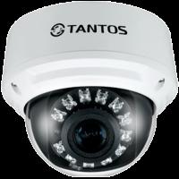 Купольная уличная камера с функцией день/ночь и ИК подсветкой Tantos TSi-DV451V (3-12)