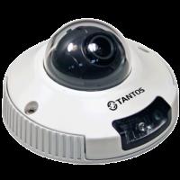 Купольная уличная камера с функцией день/ночь и ИК подсветкой Tantos TSi-DVm221F (3.6)