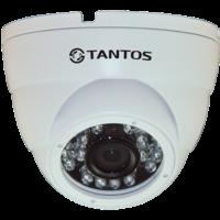 Купольная уличная камера с функцией день/ночь и ИК подсветкой Tantos TSi-Dle1F (3.6)