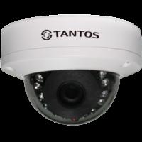 Купольная уличная камера с функцией день/ночь и ИК подсветкой Tantos TSi-Dle23FP (2.8)