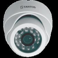 Купольная IP видеокамера с ИК подсветкой Tantos TSi-Dle11F (3.6)