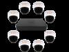 Комплект AHD видеонаблюдения Помещение 4