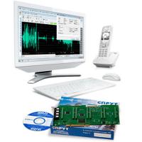 Комплекс «СПРУТ-7/ISDN» «под ключ» 16 каналов ISDN BRI